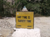 any time is safety time