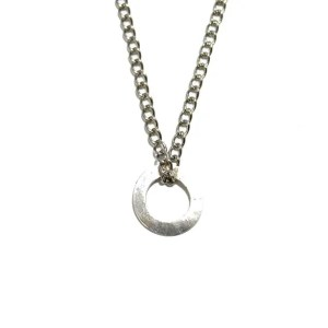 Round Silver Necklace