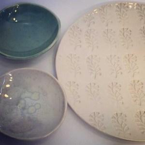 Plato de cerámica Nordik