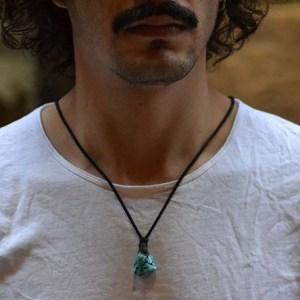 collar turquesa