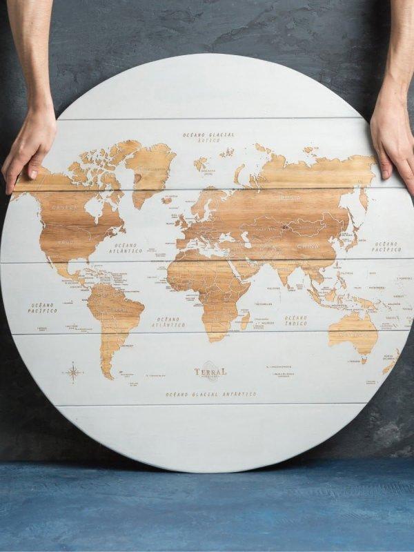 Mapamundi Large Circular 1