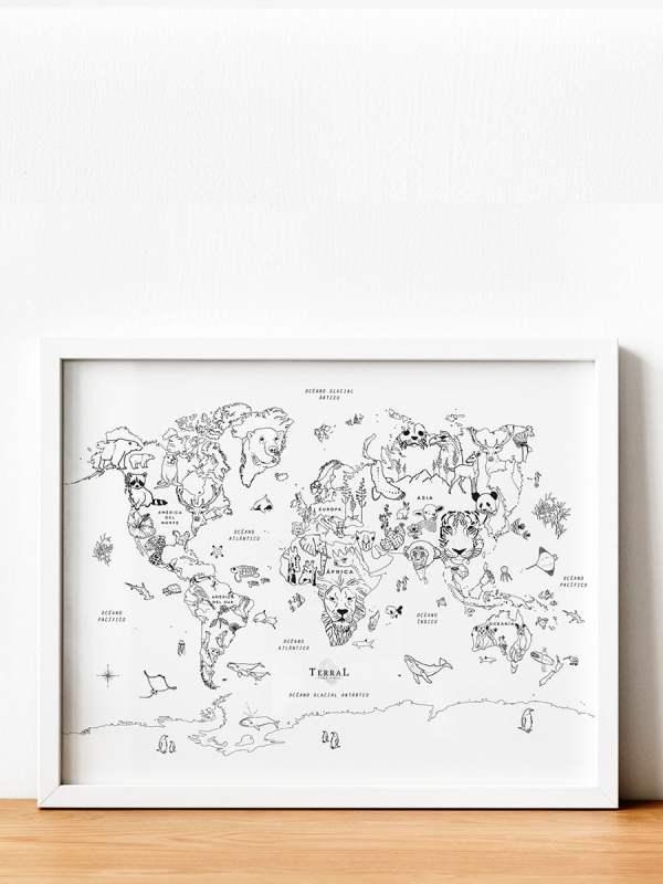 Pinta tu mundo - Animalmundi - 2