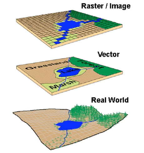 Raster-and-Vector-data-in-GIS