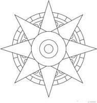 8 point mandala