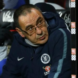 Mr Sarri, what's going on?