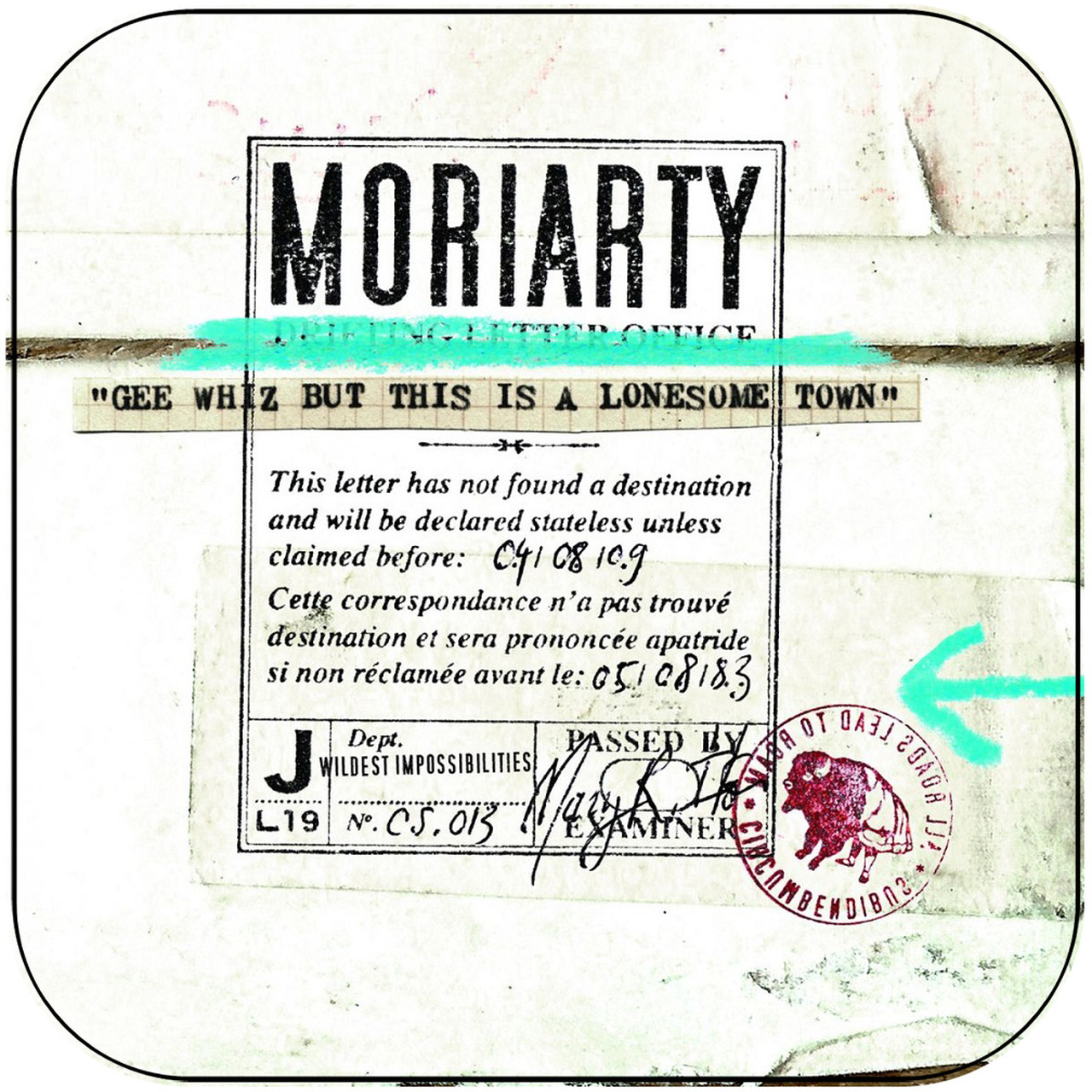 Gee Whiz But This Is A Lonesome Town – Moriarty