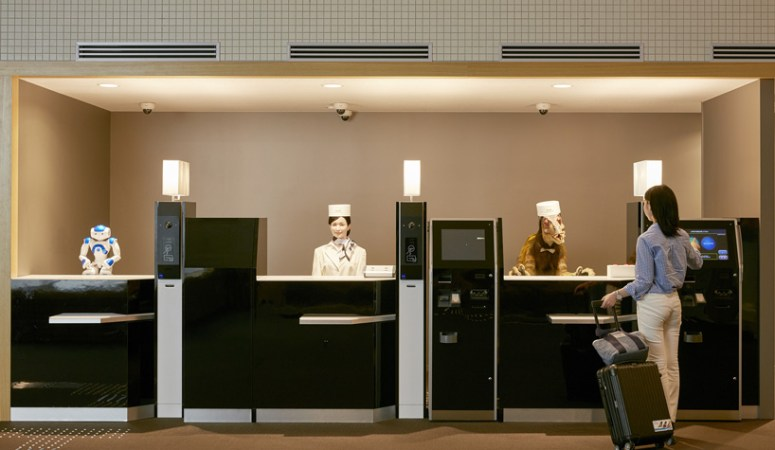 First Hotel in World Staffed Solely by Robots