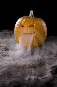 dry ice pumpkin