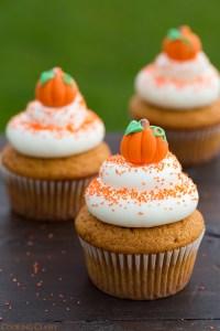 Halloween Recipe: Pumpkin Cupcakes