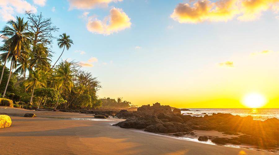Corcovado Beach in Costa Rica