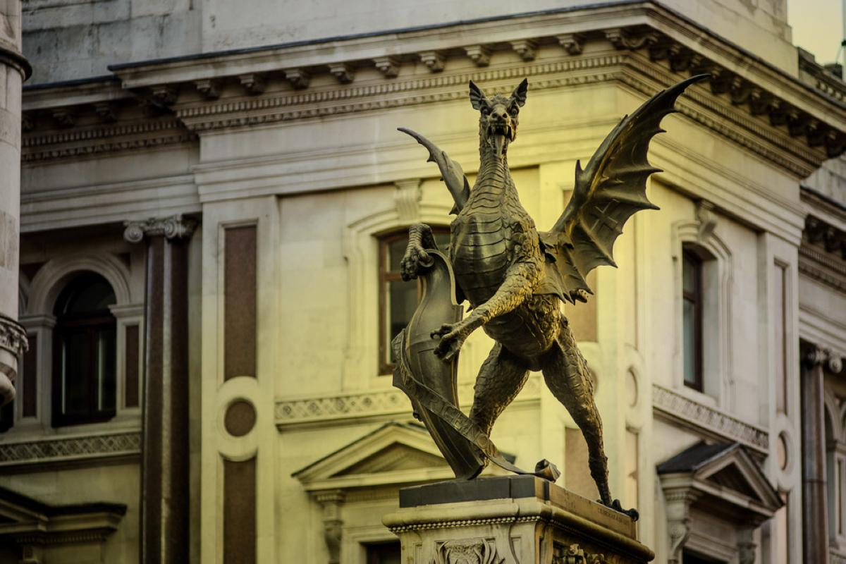 Dragons in the City of London