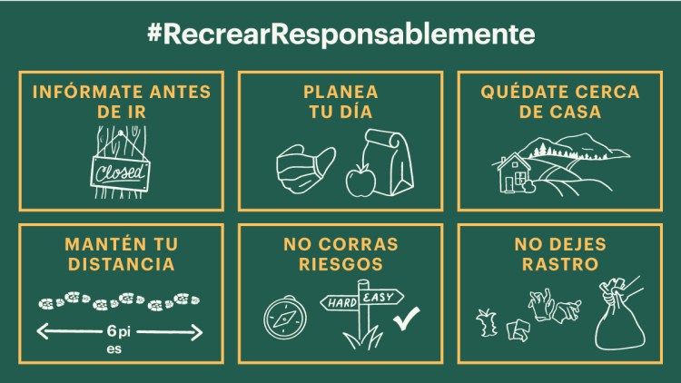 Recrear responsablemente