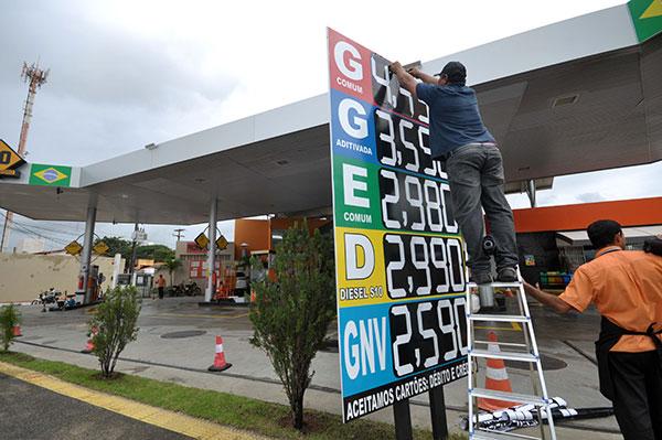 Resultado de imagem para preco da gasolina natal