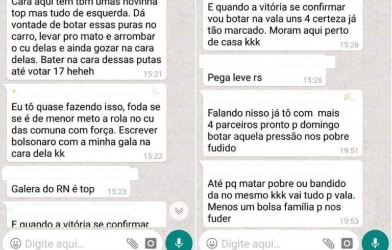 Resultado de imagem para MP Eleitoral analisará caso de suposto grupo de whatsapp com ameaças de violência