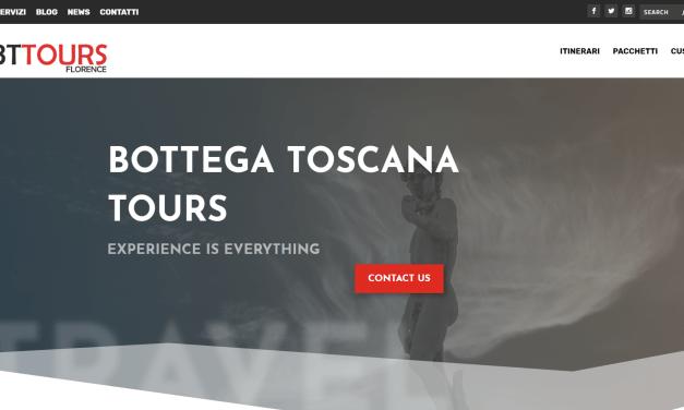 E' online Bottega Toscana Tours