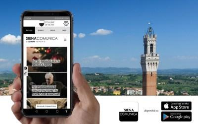 Siena Comunica App, l'evoluzione della comunicazione istituzionale del Comune di Siena