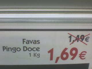 Fotografia: Pingo Doce, Av. 5 de Outubro, Lisboa. Enviada por: Luís Pedro.