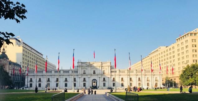 Palacio de La Moneda - Santiago del Cile