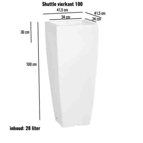 Shuttle vierkant