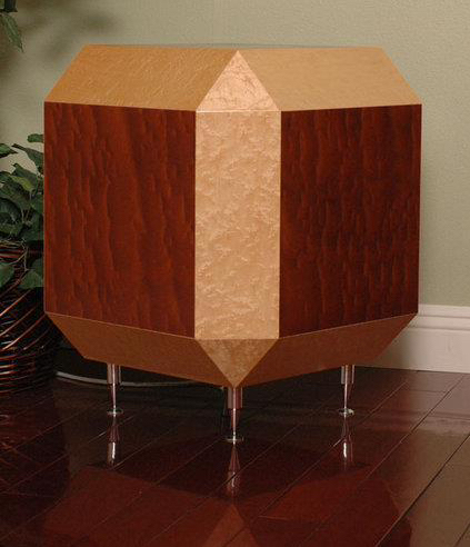 26 sided woofer box with incredible sound hand crafted by maker