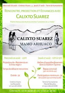 2 jours de rencontre avec Calixto Suarez