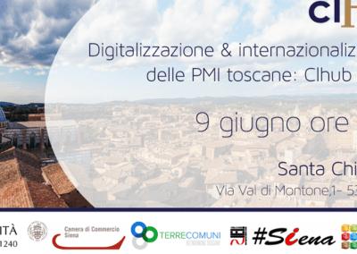 Digitalizzazione & internazionalizzazione delle PMI toscane. Siena – 9 giugno 2016
