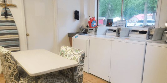 Terre Haute Campground Laundry Room