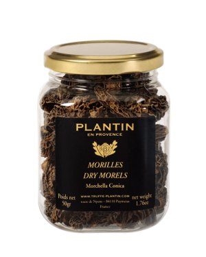 Dried morels of Provence