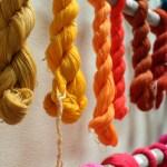 Fil de coton colorés