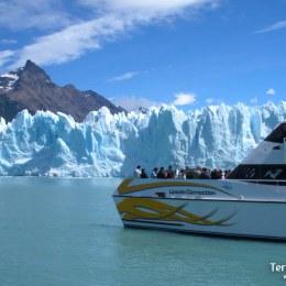 Navegación entre glaciares: Upsala, Spagazzini y Perito Moreno