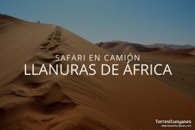 Safari en camión Llanuras de África