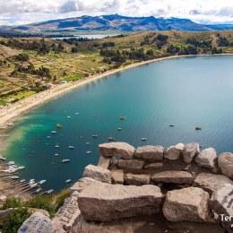 Atravesar el lago Titicaca y llegar hasta la Isla del Sol