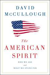 Book cover. The American Spirit by David McCullought.