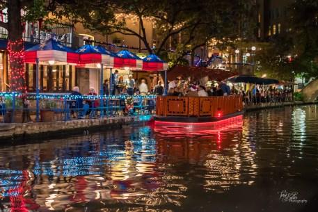 riverwalk, downtown, san antonio, Christmas, holiday, lights
