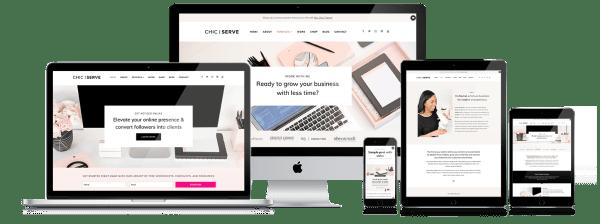 Feminine WordPress Sites for Entrepreneurs