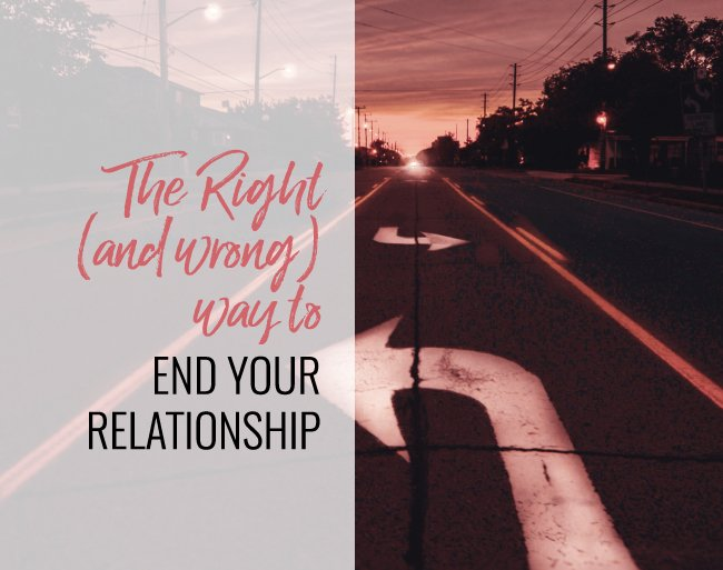end your relationship