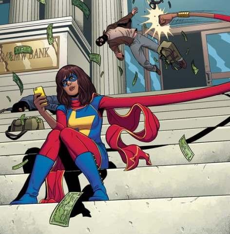 Kamala Khan, la primer superheroína musulmana