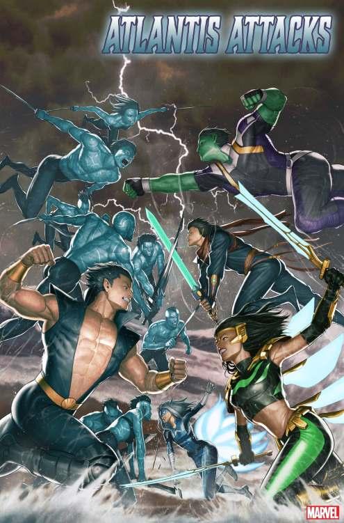 Atlantis Attacks #1 cover