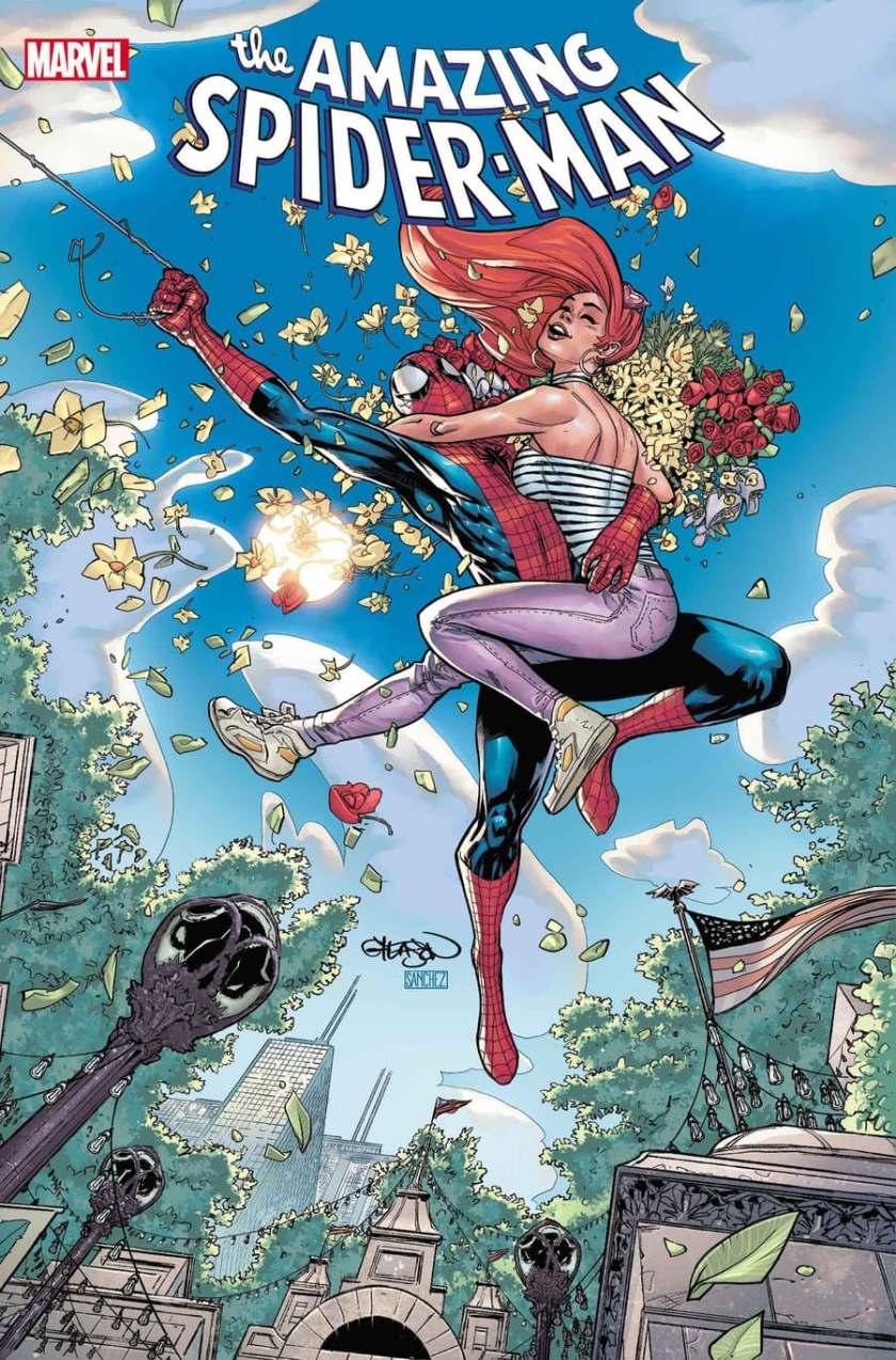 COPERTINA DI AMAZING SPIDER-MAN #74 di Patrick Gleason