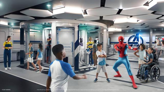 Super Heroes Take to the High Seas on New Disney Cruise Line Ship | Marvel