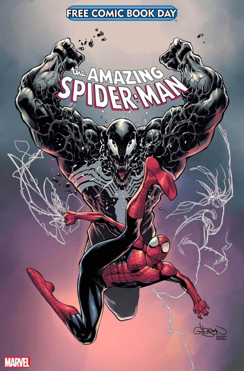 FREE COMIC BOOK DAY 2021: copertina di SPIDER-MAN / VENOM di Patrick Gleason