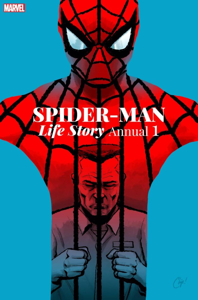 SPIDER-MAN: LIFE STORY ANNUAL # 1 cover di Chip Zdarsky