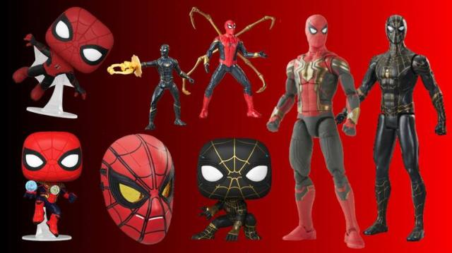 'Spider-Man: No Way Home': First Look At Brand-New Spidey Funkos, Figures, and More | Marvel