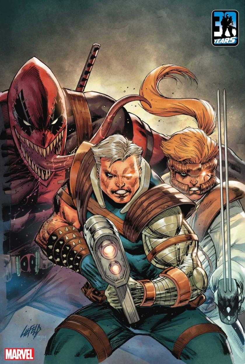 X-FORCE: KILLSHOT #1 variant cover by Rob Liefeld