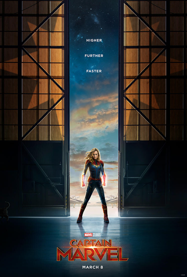 First Official Trailer For Captain Marvel - Marvel Studios 3