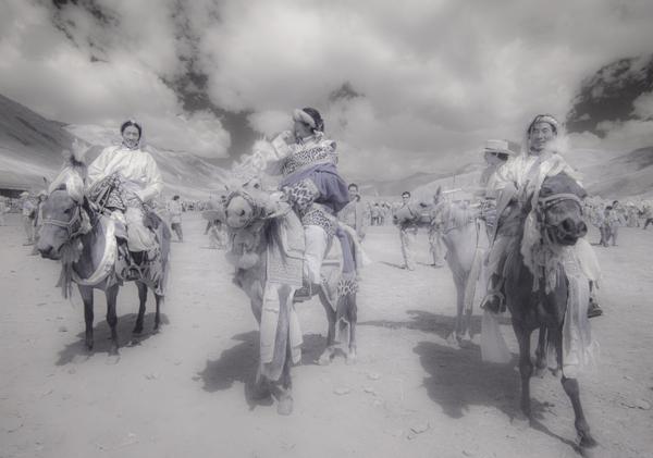 Khampa horseman