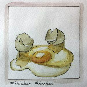 Inktober broken