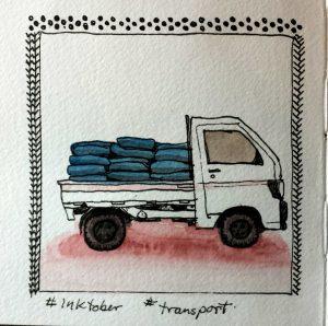 Inktober transport