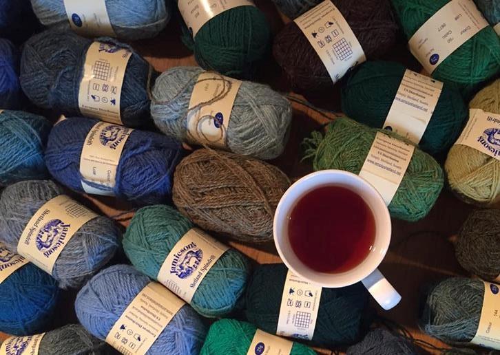 yarn and tea (2)