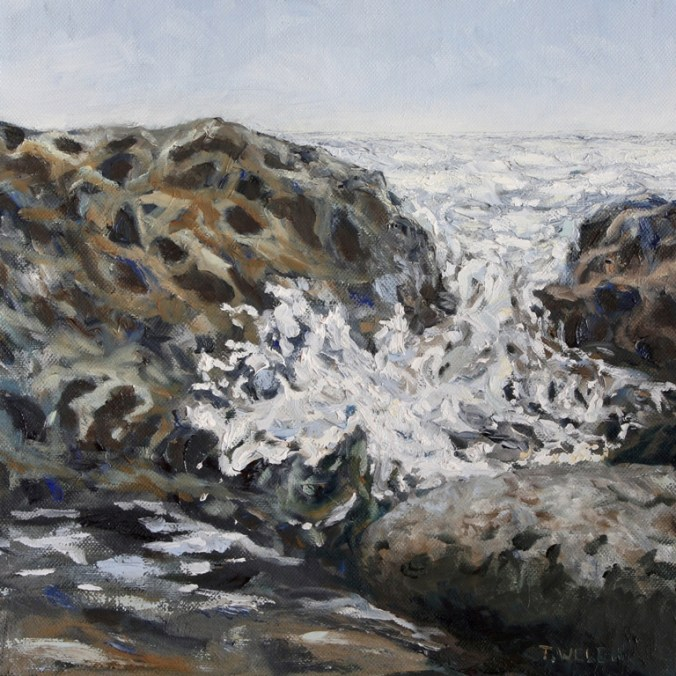 Spilling Over 12 x 12 inch oil on canvas by Terrill Welch IMG_0370